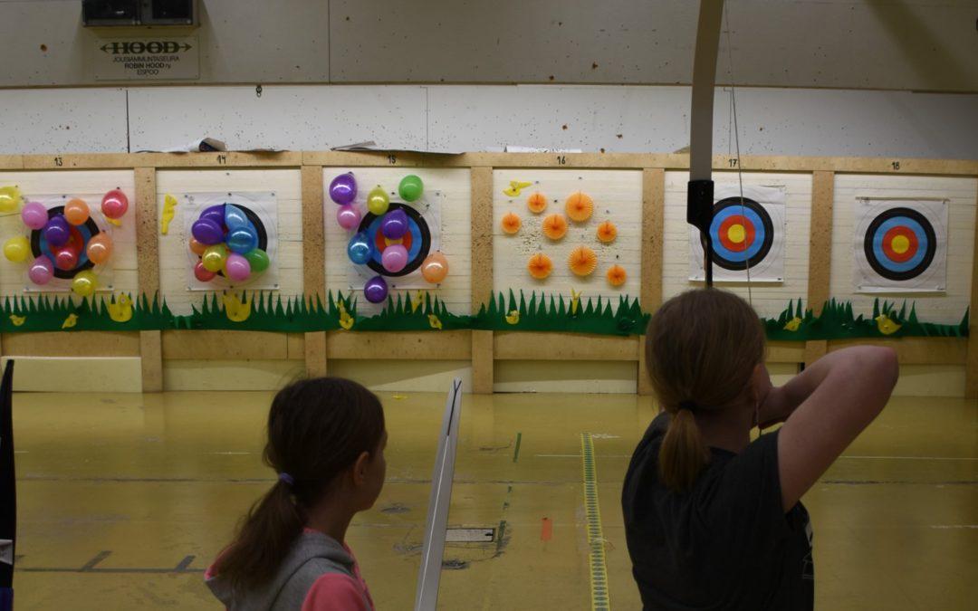 Lapset voittivat Robin Hoodin pääsiäiskisassa